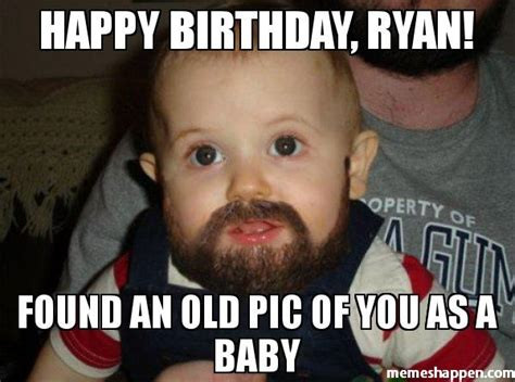 Ryan Memes - old baby meme 28 images 100k facebook followers and internet sensation at 8 success kid