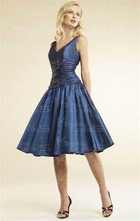 cheap navy blue bridesmaid dresses cheap simple a line v neck drop knee length navy blue bridesmaid dress kissydress uk