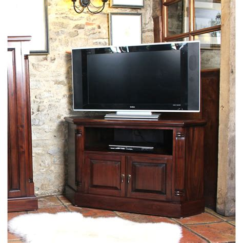 Tv Cabinet by Mahogany Corner Television Cabinet Wooden Furniture Store