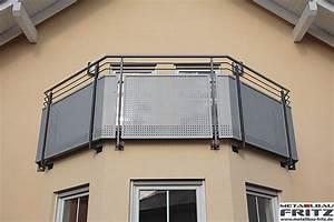 Balkongeländer Pulverbeschichtet Anthrazit : metallbau fritz balkongel nder 35 05 ~ Michelbontemps.com Haus und Dekorationen