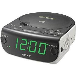 Radiowecker Mit Cd Spieler by Sony Icf Cd814 Am Fm Stereo Clock Radio With Cd Player