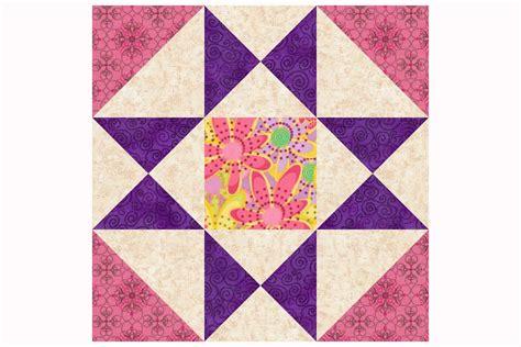 sew  variation   ohio star quilt block pattern