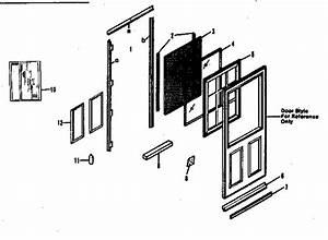 Sears Insulating Storm  Screen Door Parts