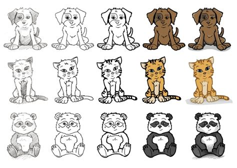 cute   creature drawings animals    draw