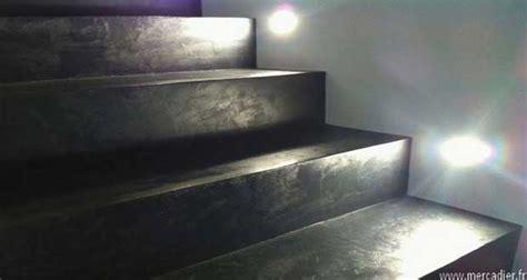 renover  escalier avec du beton cire deco cool