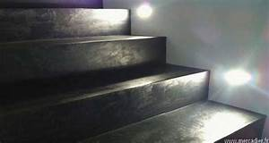 Renover Un Escalier En Bois : r nover un escalier avec du b ton cire deco cool ~ Premium-room.com Idées de Décoration