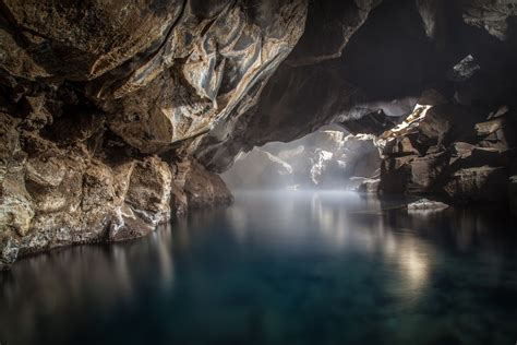 nature, River, Rock, Cave Wallpapers HD / Desktop and ...