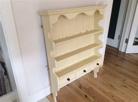Wall Mounted Cream Kitchen Dresser For Sale In Lucan