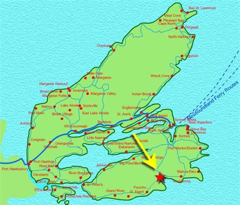 cape breton estates details for seaside in glorious gabarus
