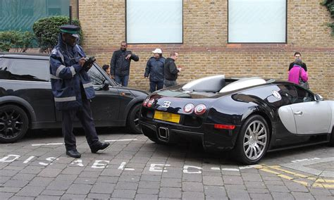 Bugatti Veyron Owner Gets Ticket For Parking In Disabled