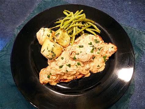 cuisiner girolles escalopes de rognons de veau facile recette escalopes de