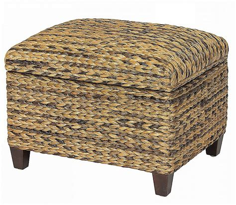 seagrass ottoman storage this is why seagrass coffee table and ottoman is so