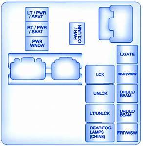 Buick Enclave Simple 2008 Fuse Box  Block Circuit Breaker