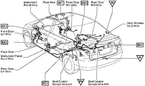 2004 corolla fuel relay diagram toyota corolla 2004 wiring
