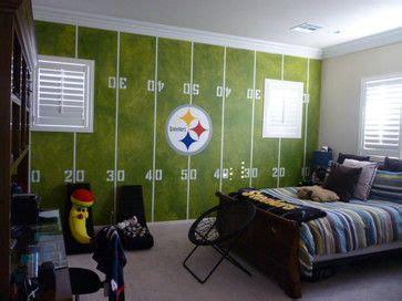 soccer bedroom ideas football room contemporary kids houzz pinterest 13359 | ea1e538c40cd9ce6e986e8a61760b1da football rooms steelers football