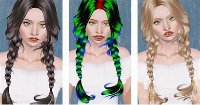 Double Sims Braided Clover Newsea Hairstyle Beaverhausen