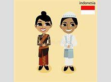 Cartoon ASEAN Indonesia stock vector Illustration of viet