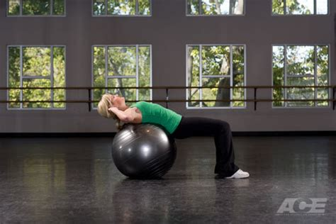 ab exercises stability ball sit ups crunches