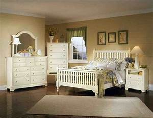 Distressed, White, Bedroom, Furniture