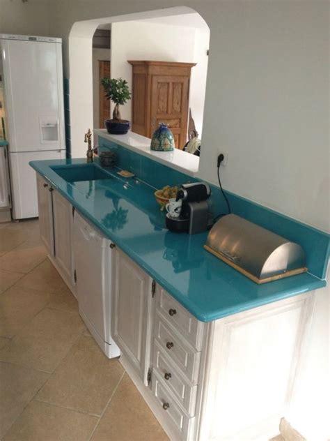 cuisine en de lave 233 maill 233 e couleur bleu de chine 224 bandol richard