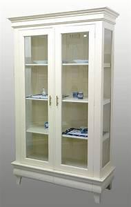 Kleiderschrank Zweitürig Weiß : vitrine massivholz zweit rig creme wei schrank wie antik 737 ebay ~ Markanthonyermac.com Haus und Dekorationen