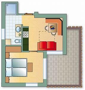 Kosten Dachausbau 40 Qm : wohnungen appartements hotel christine appartment ~ Lizthompson.info Haus und Dekorationen