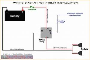 40 Amp 4 Pin Relay Wiring Diagram