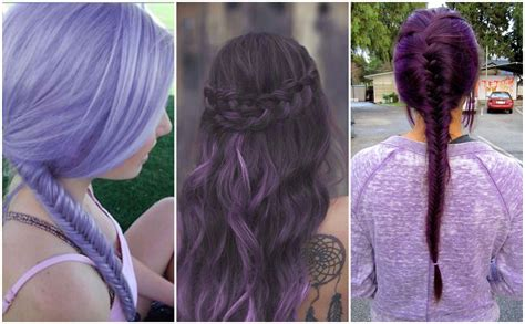 Purple Hair Colors That Actually Look Good Hair World