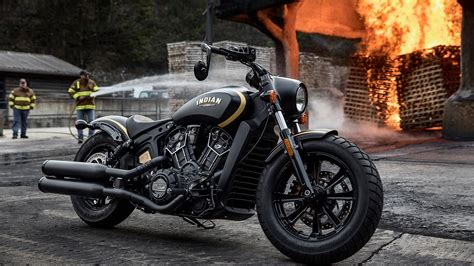Jack Daniel's Limited Edition Indian Scout Bobber Combines