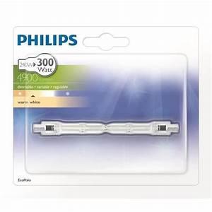 Ampoule Crayon Led : philips crayon 118mm ampoule ecohalo 240w r7s achat ~ Nature-et-papiers.com Idées de Décoration