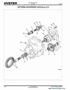 Nissan Forklift Parts Diagram