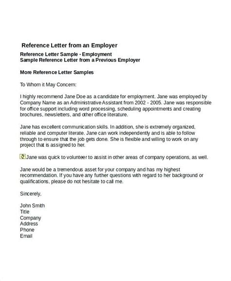 sample recommendation letter  boss