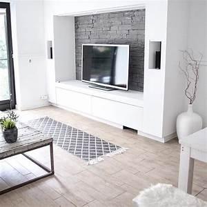 Deko Wohnzimmer Wand : diy tv wand tv wand selber machen diy heimkino heimkino ~ Lizthompson.info Haus und Dekorationen