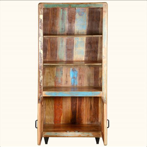 distressed wood bookcase rustic distressed bookcase doherty house paint