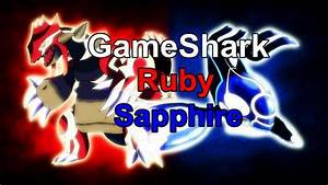 Cheats Gameshark Poku00e9mon Ruby Sapphire Gba Download