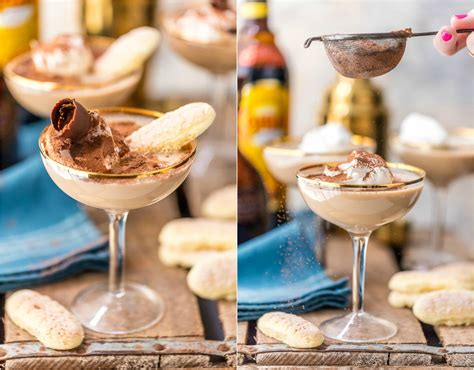Coffee makes the tiramisu an exceptional dessert, so i recommend using good coffee , something that you would drink. Tiramisu Martini Dessert Cocktail Recipe - The Cookie Rookie