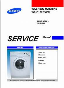Samsung Wf B1061 Wf B1262 Service Manual Repair Guide
