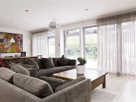White Drapes In Living Room by Inverted Pleat Drapes That Will Smarten Your Window