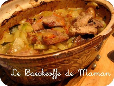 cuisine alsacienne baeckeoffe 25 best ideas about baeckeoffe on