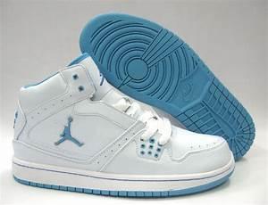 Women Jordan 1 Flight - White Blue,new release jordans ...