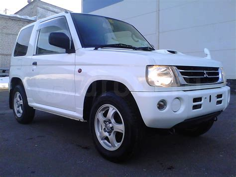 mitsubishi mini 2005 mitsubishi pajero mini pictures information and