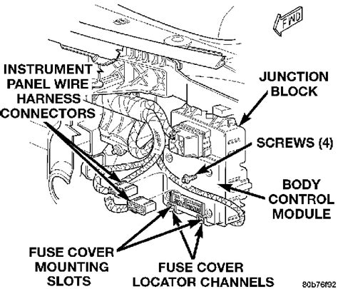 Where The Body Control Module Jeep Grand
