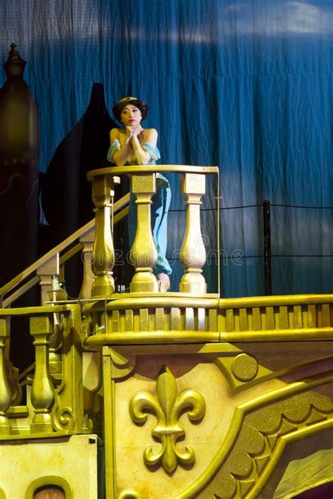 princess jasmine   balcony editorial image image