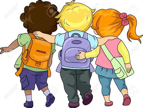 bambini clipart walking to school clipart 101 clip