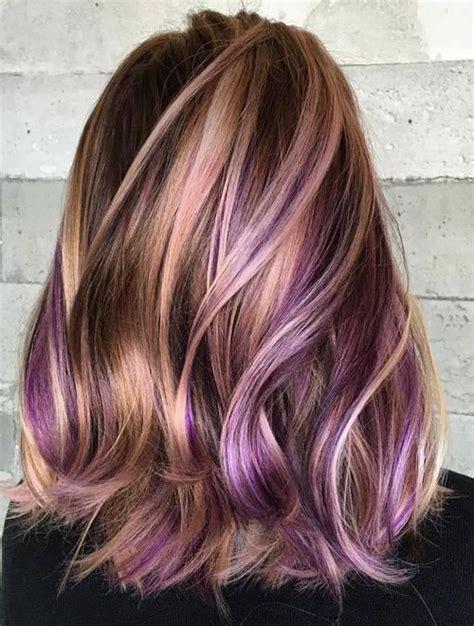 purple hair color styles hair color inspiration formulation the royal palette 9168