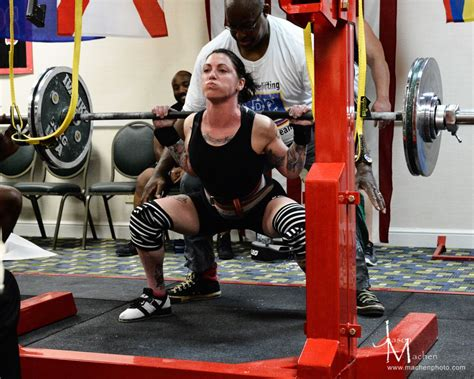 squat powerlifting female raw class lifter 60kg meet elite 5kg fitness athens 5lbs total which