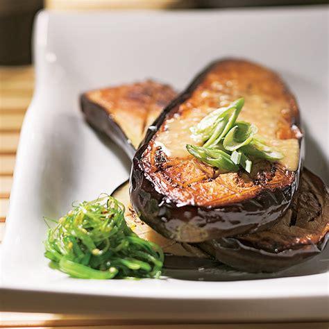 cuisine aubergines aubergines à la japonaise recettes cuisine et