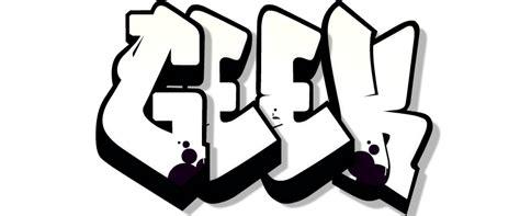 Graffiti Icon Png : Graffiti Geek By Mrtheagge On Deviantart