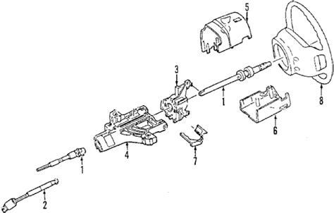 Parts Ford Ranger Steering Column Oem