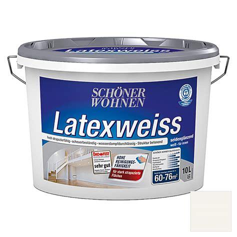 Schöner Wohnen Latexfarbe Matt by Sch 246 Ner Wohnen Latexfarbe Latexwei 223 Wei 223 10 L